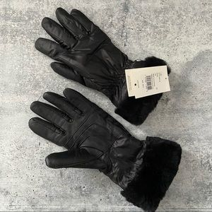 UGG Fontanne Tech Smart Shearling Lined Water Resistant Gloves L/XL